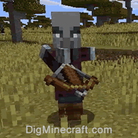 Pillager in Minecraft