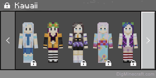 Kawaii Skin Pack In Minecraft - Skin para minecraft pe kawaii